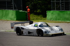 1990 Mercedes C11 Group C Prototype at Monza Royalty Free Stock Photo