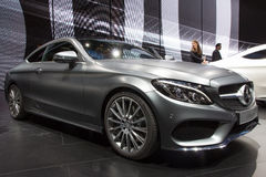 2016 Mercedes-c-Klasse Coupé Royalty-vrije Stock Afbeeldingen
