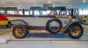 Mercedes-caballero del coche del vintage 16/45 picosegundo Tourer, 1921 Imagen de archivo