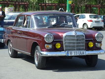 MERCEDES 180. Car at Spring Retro Parade in Bucharest,Romania Royalty Free Stock Photos