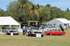 Mercedes cars at boca raton resort Royalty Free Stock Photo