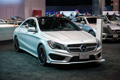 Mercedes at the Chicago Auto Show Royalty Free Stock Image