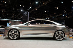 Mercedes at the Chicago Auto Show Royalty Free Stock Photography