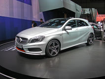Mercedes A class Royalty Free Stock Images