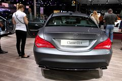 The Mercedes A-class CLA Royalty Free Stock Photo
