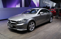 Mercedes CLS 350 at Paris Motor Show Stock Photos