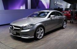 Mercedes CLS 350 at Paris Motor Show Stock Photos