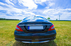 Mercedes cls backside Royalty Free Stock Image