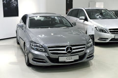Mercedes CLS 350 CDI Stock Image