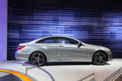 Mercedes CLS coupe. Chicago auto show February 2011 Stock Photo
