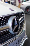 Mercedes CLS grille Stock Photo