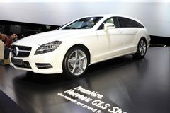 The Mercedes CLS Shooting Brake Stock Photography