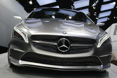 Mercedes concept car 2012 Royalty Free Stock Photo