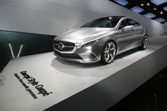 Mercedes concept car 2012 Stock Image