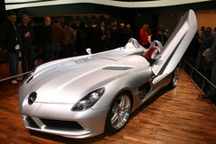 Mercedes Concept Car. Seen at Geneva Saloon 2009 Stock Photos
