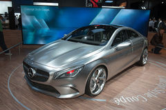 Mercedes Concept Style Coupe Stock Photo