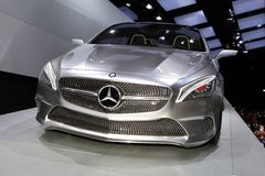 The Mercedes Concept Style Coupe Stock Image