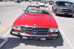 Mercedes convertible coupe Royalty Free Stock Images