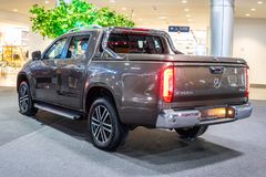 Mercedes X 350 d 4Matic,  first generation, X-Class luxury pickup truck produced by Mercedes Benz royalty free stock images