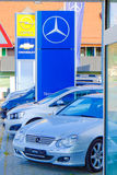 Mercedes dealership Royalty Free Stock Image