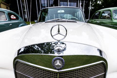 Mercedes detail Stock Photos