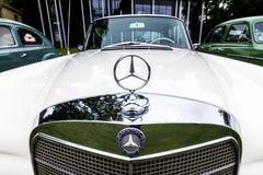 Mercedes detail Stock Photos