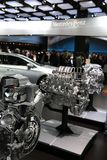 Mercedes display at the Auto Show Stock Photography