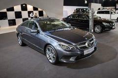 Mercedes E220 BlueTEC Fotografie Stock