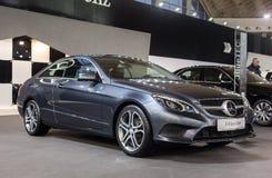 Mercedes E220 BlueTEC Immagini Stock Libere da Diritti