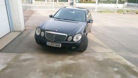 Mercedes E220 CDI W211 lizenzfreie stockbilder