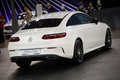 Mercedes E Klasa Coupe Stock Photos