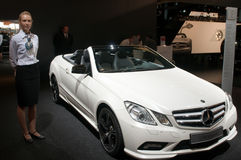 Mercedes E500 Cabrio Stock Photo