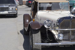 Mercedes för Retro bil SSK frigörare 1937 Royaltyfri Bild
