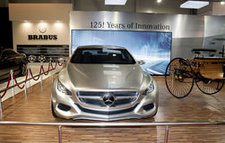 Mercedes F 800 Style Concept Royalty Free Stock Image
