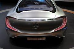 Mercedes F125 su 64rd IAA Immagine Stock Libera da Diritti