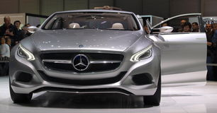 Mercedes F800 Style Concept Car Royalty Free Stock Images