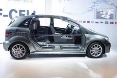 Mercedes FCell su visualizzazione all'Expo automatica 2012 Immagini Stock Libere da Diritti