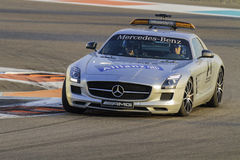 Mercedes Formula One Safety Car Arkivfoton