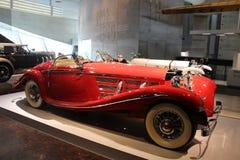 Mercedes frigöraren av 30 år av det 20th århundradet arkivfoton