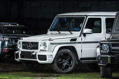 Mercedes G55 AMG tuning Royalty Free Stock Images