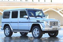 Mercedes G350 Stock Photos