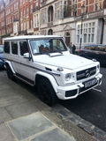 Mercedes G wagon Royalty Free Stock Photography