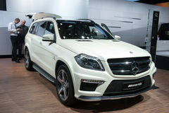 Mercedes GL 63 AMG - world premiere Royalty Free Stock Photography