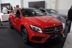 Mercedes GLA angezeigt an der 3. Ausgabe von MOTO-ZEIGUNG in Krakau polen Lizenzfreies Stockfoto