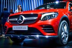 Mercedes-GLC 250 4MATIC-coupé bij MIAS 2016 Stock Foto's
