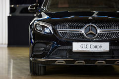 Mercedes GLE coupe Stock Photo