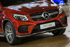 Mercedes GLE coupe Royalty Free Stock Images