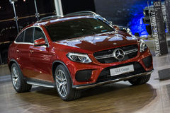 Mercedes GLE coupe Stock Photography