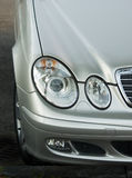 Mercedes headlights Stock Photos
