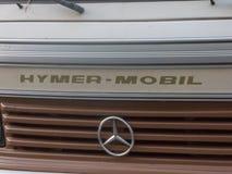 Mercedes Hymermobil-motorhome stockbilder